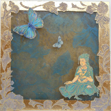 """Buddha of the Butterflies"", by Robin Urton"