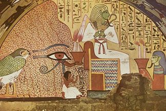 Eyeconart art of egypt for Egyptian wallpaper mural